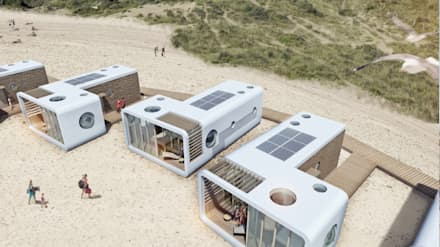 Prefabricated home by PLEKvoor