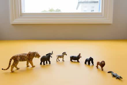 Jungle toys : scandinavian Nursery/kid's room by Tigerplay at Home