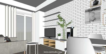 :  Ruang Keluarga by SAE Studio (PT. Shiva Ardhyanesha Estetika)