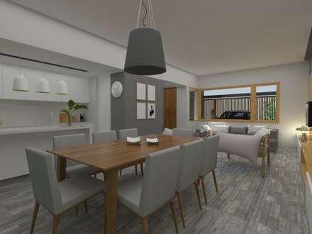 Cocina: Cocinas de estilo moderno por SBG Estudio