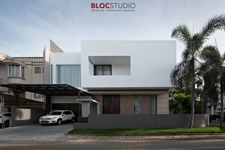Single family home by BlocStudio