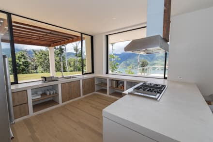 Dapur built in by astratto