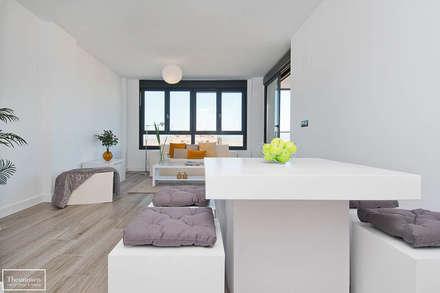 Salones modernos dise o e ideas de decoraci n homify for Alquiler muebles madrid