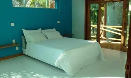 Quarto da Suite Master: Quartos  por Arquitetura & Design - Marcela Tavares