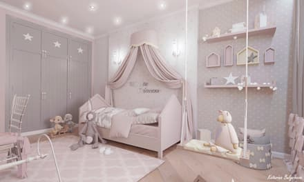 Детская: Детские комнаты в . Автор – Булычева Катерина