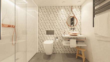 ASEO DORMITORIO : Baños de estilo moderno de La Pecera Estudio Creativo