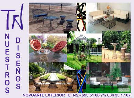Casitas de jardín de estilo  por Novoarte Exterior