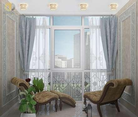 Дизайн трехкомнатной квартиры 115 кв. м: Окна в . Автор – Группа Компаний 'Фундамент'