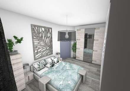 Chambre: Chambre de style de style Moderne par Crhome Design