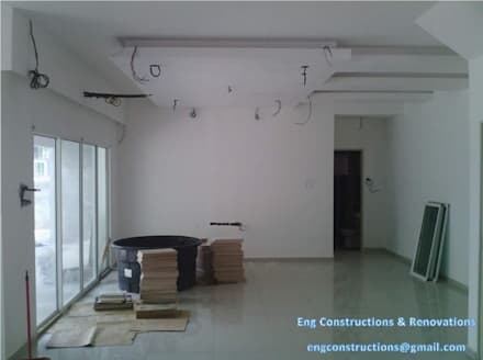 Wiring: asian Living room by Sam Contractors Ipoh