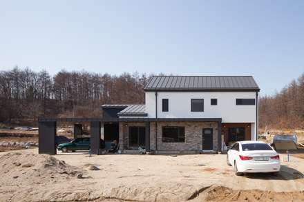 주택 외관 2: 위드하임의  목조 주택