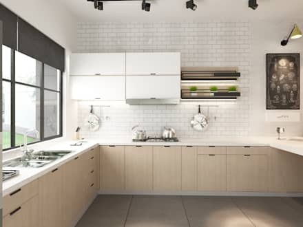 Módulos de cocina de estilo  de Jannovative Design