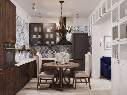 ЖК Маршала Захарова 7: Кухни в . Автор – 3D GROUP