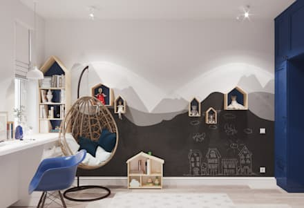 mediterranean Nursery/kid's room by 3D GROUP