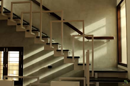 KASAT RESIDENCE:  Stairs by de square
