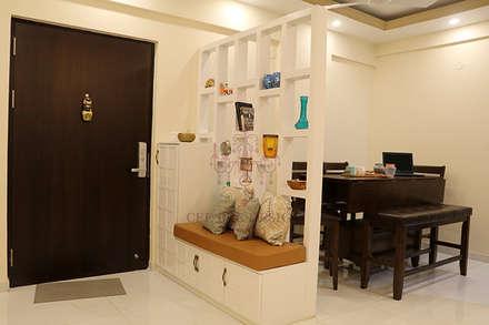 ห้องนั่งเล่น by Cee Bee Design Studio