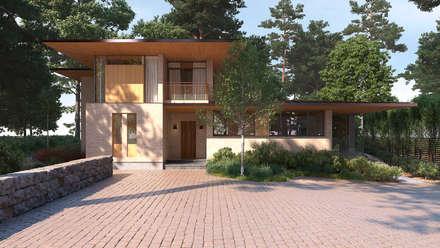 Country house by Архитектурное бюро