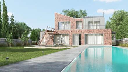 Дом в Анапе: Дома на одну семью в . Автор – Архитектурное бюро