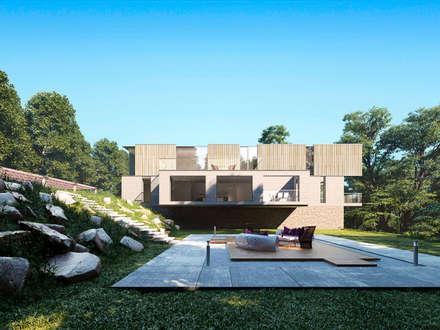 Дом в Сочи: Дома на одну семью в . Автор – Архитектурное бюро
