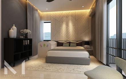 Master Bedroom : modern Bedroom by Muse Studio