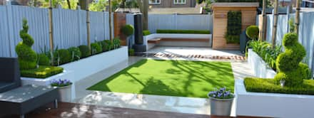 Minimalist Garden: minimalistic Garden by Landscaper in London