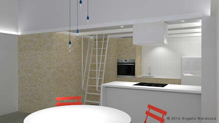 Built-in kitchens by Angelo Nardozza Architetto