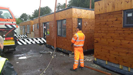 Ready to Transit:  Prefabricated home by Building With Frames