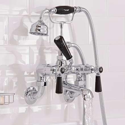Hudson Reed Topaz Lever Bath Shower Mixer Tap: classic Bathroom by BigBathroomShop