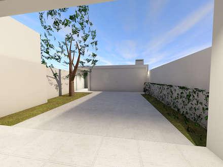 Casa das Amadas: Arrumos de jardim  por Sousa Macedo, Arquitectos, Lda.