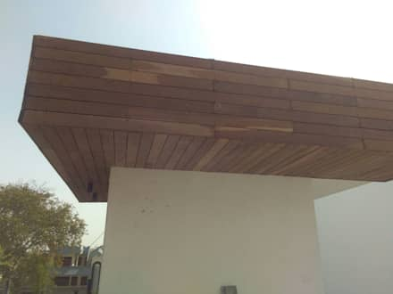 IPE Cladding:  Walls by Opulo India