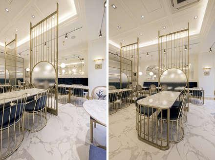 파티션, 가구: 디자인에이드의  바 & 카페