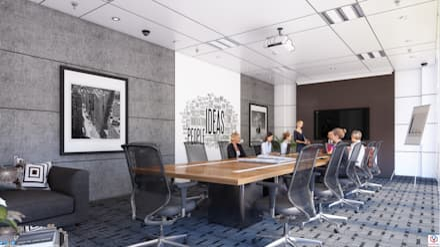 BOARD ROOM:  Conference Centres by VIZPIXEL STUDIO