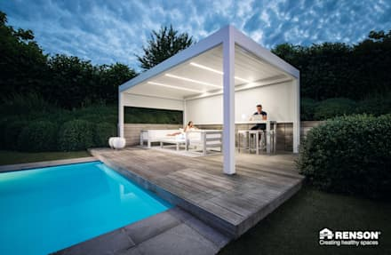 Camargue:  Patios & Decks by Atria Designs Inc.