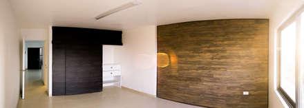 Interior Oficinas Fuentes, Antofagasta: Oficinas y Comercios de estilo  por Estudio Intu