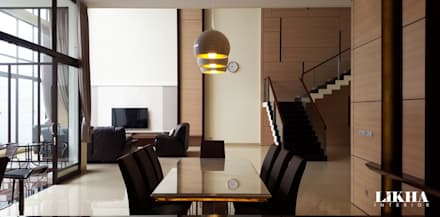 Dining Area:  Ruang Makan by Likha Interior