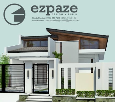 Bungalows de estilo  de ezpaze design+build