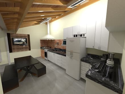 Unit dapur by Seu Projeto Arquitetura