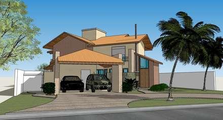 Rumah pedesaan by Seu Projeto Arquitetura