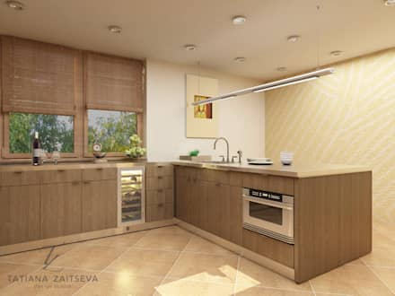 Dapur built in by Design studio TZinterior group