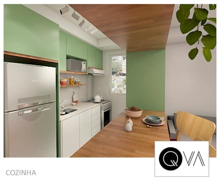 Kitchen units by QViveAlli