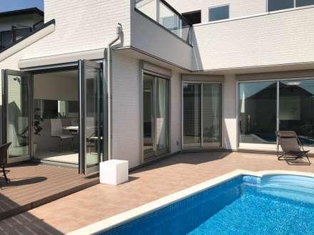 プールのある家: PROSPERDESIGN ARCHITECT OFFICE/プロスパーデザインが手掛けたプールです。