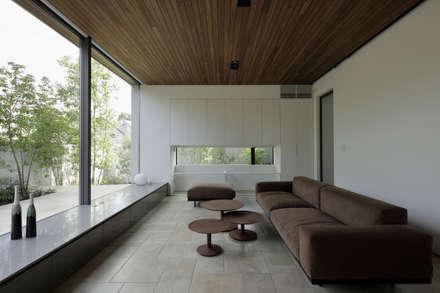 リビング|三鷹の家: U建築設計室が手掛けたリビングです。