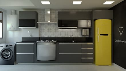 Kitchen units by Toca da Oca