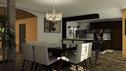 置入式廚房 by MC/AP Arquitectos