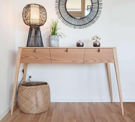 Oficinas y Tiendas de estilo  por BORAGUI - Design Studio