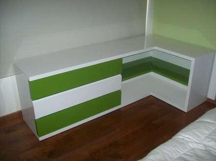 غرفة نوم مراهقين  تنفيذ Romina Sirianni