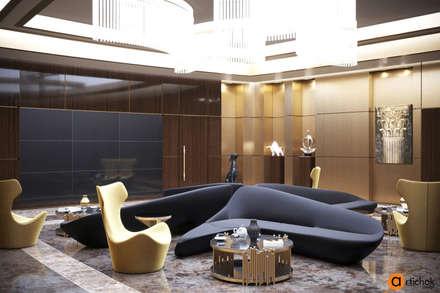 Дизайн интерьера офиса в стиле модерн - дизайн офиса Киев: Офисные помещения в . Автор – Art-i-Chok