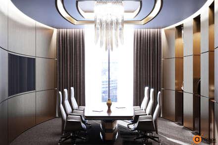 Переговорная комната - идеи дизайна офиса в Киеве: Офисные помещения в . Автор – Art-i-Chok