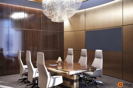 Дизайн офиса в стиле модерн - коммерческий дизайн интерьера Киев: Офисы и магазины в . Автор – Art-i-Chok
