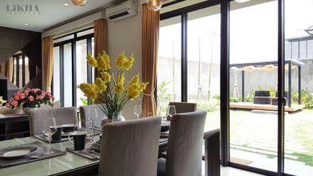 Ruang Makan:  Ruang Makan by Likha Interior